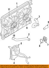 CHRYSLER OEM-Radiator Cooling Fan Motor 5137714AA