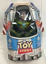"""Buzz Lightyear Power Boost 9"""" Inch Action Figure Rare Early Buzz Toy - With Box"""