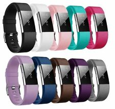 For Fitbit Charge 2 Strap Replacement Wristband Metal Buckle Small Large