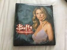 Buffy The Vampire Slayer Season 5 Inkworks Binder + Full Set Trading Cards