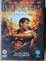 The Immortals DVD 2011 Action Movie Epic with Henry Cavill and Mickey Rourke