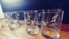 New listing Vintage Bc Comics Johnny Hart Bar Caveman Glasses Set of 10 Pinched Glass 14 oz