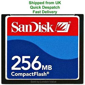 SanDisk 256mb Compact Flash Karte CF CompactFlash Speicherkarte