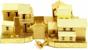 NEW Microworld 3D Metal Nano Puzzle Ancient Water Town Build Model Jigsaw Toy