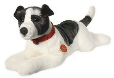 Jack Russell lying Teddy Hermann 92762 New Dog Terrier Russel