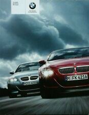 BMW M5 Saloon & M6 Coupe - 2005 SALES BROCHURE **HIGHLY COLLECTABLE**