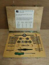 RS HSS Thread Cutting Tool Set - Taps & Dies