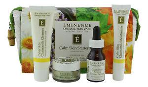 Eminence Calm Skin Starter Set. Skin Care System