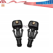 2 pcs Windshield Wiper Washer Fluid Nozzle For 3W7Z17603AA Ford F150 04-14