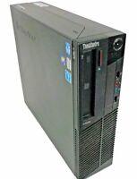 Lenovo ThinkCentre M82 Desktop Quad Core i3-3220 3.3GHz 2GB 500GB Win10