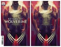 Return Of Wolverine #1 Stephanie Hans Variant VIRGIN &TRADE DRESS 2018 NM