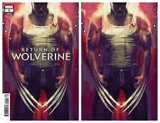 Return Of Wolverine #1 Stephanie Hans Variant VIRGIN &TRADE DRESS Pre-Order 2018