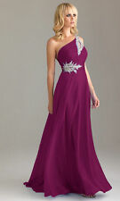 Long Bridesmaid Dress Wedding Formal Evening Dresses Party Ball Gown Size 6-28
