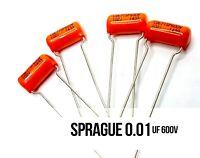 Sprague .01 MFD 600V Orange Drop Capacitors