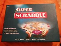 RARE SUPER SCRABBLE GAME TINDERBOX GAMES 2006 COMPLETE LOVELY CONDITION GIANT