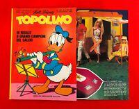 TOPOLINO N.1251 Walt Disney Mondadori - 18 novembre 1979 + catalogo + 6 figurine