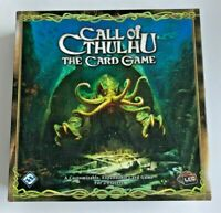 Call of Cthulhu The Card Game Core Set Living Card Game LCG Fantasy Flight Games