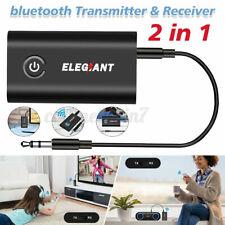 Elegiant bluetooth 5.0 Transmitter Receiver 3.5mm Audio Jack Aux Adapter Speaker