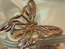Large Butterfly Clip Brooch 62Jn9 Artsy John Hardy Signed Silver Plate