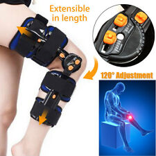 T-Scope ROM Stabilizer Knee Brace Adjustable Hing Leg Patella Support Protection