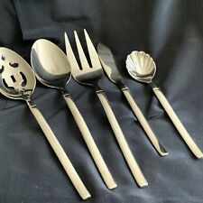 Lot Of 5 Serving Utensils Zwilling J. A. Henckels OPUS Glossy Stainless Spoon...