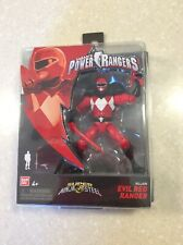 Power Rangers Super Ninja Steel Evil Red Ranger 2018 MOC
