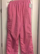 Womens Sag Harbor Sports Pants Size PL Pink Brand NEW NWT