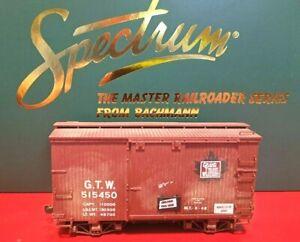 On30 Bachmann 18' Box Car GTW Grand Trunk Western Canadian Custom Weathered