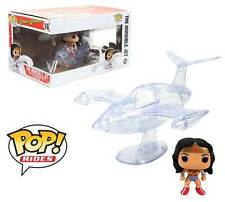 Wonder Woman with Invisible Jet Pop! Funko rides Vinyl figure DC Comics n° 16