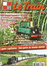 LE TRAIN N°340 030 CORPET LOUVET N°75 LGB / LIGNES CAPILLAIRES / WAGONS PLATS