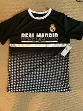Reall Madrid Boys Youth Large T Shirt Hala Madrid Official Product Nwt