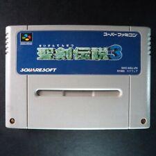 SEIKEN DENSETSU 3 Nintendo Super Famicom NTSC JAPAN・❀・RPG SECRET OF MANA 2 聖剣伝説3