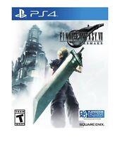 Final Fantasy VII Remake Standard Edition - PlayStation 4, PlayStation 5 NEW