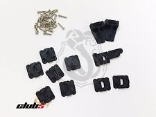 Complete Set of Doors / Bonnet Hinges (11 Pcs) For Traxxas TRX-4 D-110 Body