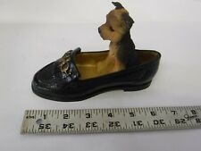 Yorkshire Terrier Yorkie Dog In A Shoe