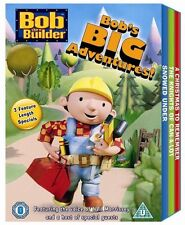 Bob The Builder 3x Disc Dvd Full Length Box Set Cool Kids Christmas Gift Idea