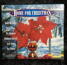 Christmas Music CDs- Home for Christmas Pat Boone Family Andy Williams 3 CDs