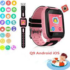 Anti-Lost Niños Seguro Rastreador GPS Reloj inteligente GSM llamadas SOS para teléfono Android IOS