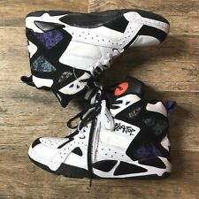 NEW NWT Reebok Blacktop Battleground Pump White/Black/Beacon/Canvas Retro 13