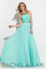 Authentic Rachel Allen 7122 Dress--Color: Mint--Size: 0 -Prom Dress