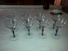 Antique Crystal Glass set ~cordial~wine~cocktail