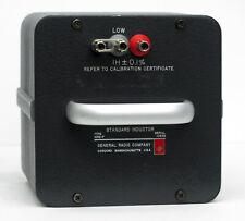 Gr General Radio, GenRad 1482P Standard Inductor 1H 1482-P