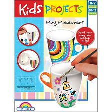 Kids Projects MUG MAKEOVERS CRAFT KIT Age Appropriate, Encourages Creativity