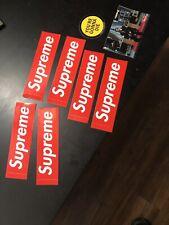 supreme stickers authentic lot