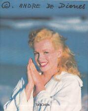 Marilyn Monroe - Andre De Dienes - Photobook Hardcover Biografie Buch Bildband
