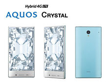 SOFTBANK SHARP AQUOS CRYSTAL 305SH ANDROID UNLOCKED SMARTPHONE JAPAN BLUE NEW