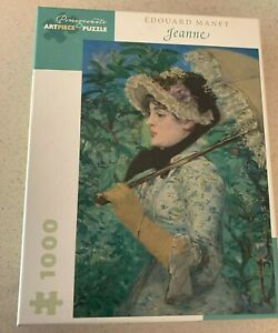 1000 Pc POMEGRANATE ARTPIECE PUZZLE EDOUARD MANET JEANNE FREE SHIPPING IN USA