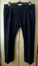 """BNWOT NAVY CORDUROY TROUSERS BY MARKS & SPENCERS - INS SEAM 29"""" - WAIST 44"""""""