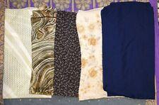 5 écharpes dans un job lot pour seulement £ 10.00 IN (environ 25.40 cm) crêpe, Georgette et en mousseline de soie.