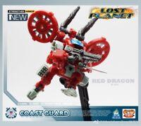 MFT Lost Planet Diaclone Coast Guard CG02 Red Dragon Transformable Robot Figure